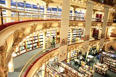 Argentinians are a famously literary people.  . So it's only fitting that Buenos Aires can lay claim to one of the world's most incredible book stores: the Ateneo Grand Splendid.