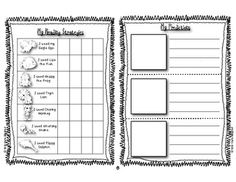 Personal Guided Reading Journals - This is a journal for you to use with your students during guided reading groups. (Kindergarten and First Grade Reading) $