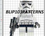 Lego Obi-Wan Kenobi (old) Cross Stitch Patterns - Characters