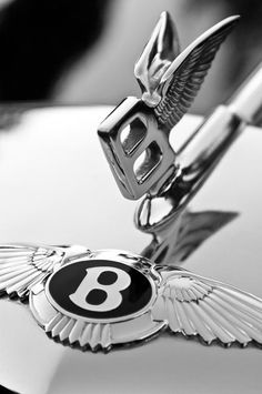 Bentley Hood OrnamentRe Pin brought to you by Bentley Logo, Bentley Car, Bentley Motors, Car Badges, Car Logos, Rolls Royce Logo, Car Symbols, Car Bonnet, Cars