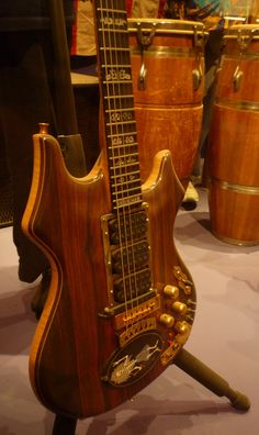 """Jerry Garcia's guitar """"Rosebud""""  I think of Rosebud as another member of the band!"""
