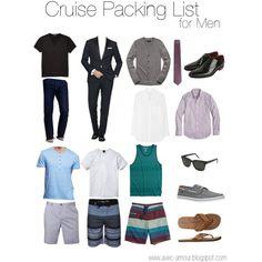 Men's Cruise Packing List by reneecutaia on Polyvore featuring Equipment, RetroSuperFuture, Ralph Lauren, J.Crew, Hurley, 21 Men, BOSS Hugo Boss, Scotch & Soda, Patagonia and Billabong