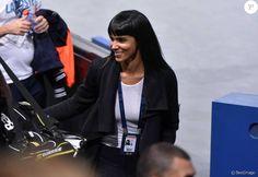 Shy'm - La chanteuse Shy'm encourage son petit-ami Benoît Paire lors du tournoi BNP Paribas Masters à l'Accor Hotels Arena à Paris le 3 novembre 2015. © Giancarlo Gorassini / Bestimage