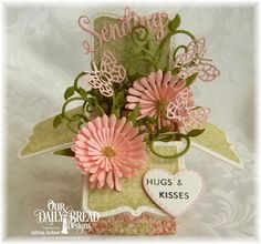 Our Daily Bread Designs, ODBD June Release 2016, Blushing Rose Paper Collection, ODBD Sending My Love, ODBD Custom dies Surprise Box, Mini Stitched Hearts, Bitty Butterflies, Fancy Foliage, Asters and Leaves, Beautiful Borders