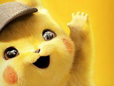 Detective Pikachu Event Starts Today in Pokemon Go Cute Pokemon Wallpaper, Cute Cartoon Wallpapers, Movie Wallpapers, Film Pokemon, Pokemon Movies, Pikachu Pikachu, Pokemon Red Blue, Poster S, Animation Film