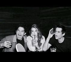 Naša skvelá Teen Wolf trojka <3 <3
