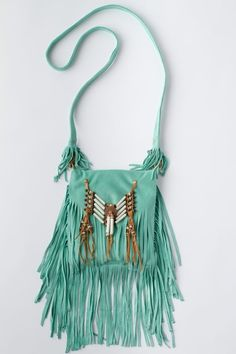 Bone & Tassel Purse - Spell Designs