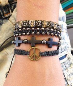 Kit de pulseiras femininas