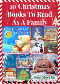 10 Christmas Books To Read As A Family - Kinder Weihnachten Christmas Books For Kids, Cozy Christmas, Christmas Activities, Christmas And New Year, All Things Christmas, Holiday Fun, Christmas Holidays, Activities For Kids, Christmas Crafts