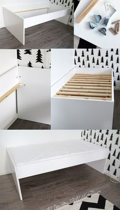 Lovely homemade bed for kids' room. Blog Bambula ¤