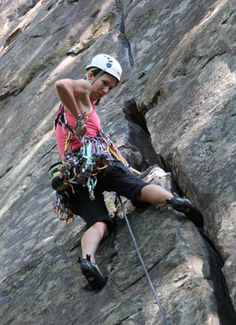 """Nice article.     """"When people find out that I'm a rock climber, the usual reaction is something to the effect of – 'Wow, I could never do that!' My response is almost always 'What's stopping you?!?'"""""""