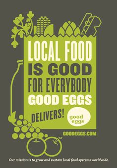 good eggs - like an online farmers market