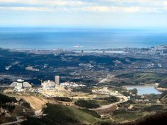 View of Sokcho from the Top of #Misiryeong Ridge, Korea  | 미시령 옛길에서 바라 본 속초시와 동해바다