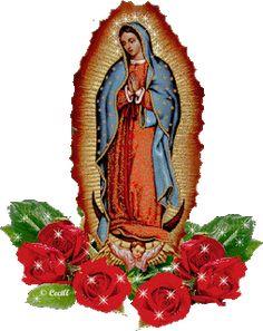 Fullimagenss: Hermosas Imágenes religiosas con movimiento New Year Poem, San Juan Diego, Good Night Prayer, Catholic Pictures, Miracle Prayer, Blessed Mother Mary, Heart Wallpaper, Princess Zelda, Disney Princess