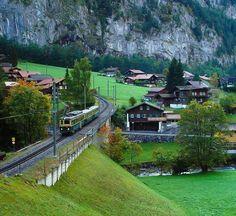 """""""I love Switzerland! Wengen Switzerland, Switzerland Vacation, Travel Around The World, Around The Worlds, Green Scenery, Plitvice Lakes National Park, Africa Travel, Travel Europe, European Travel"""