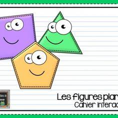 Les figures planes { Cahier interactif } | Les créations de Stéphanie