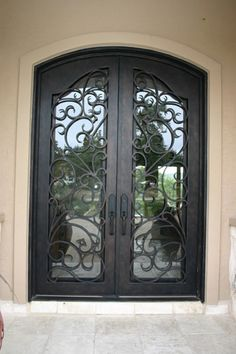Hurricane rated iron doors sold in Alabama and Florida.