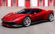 One-Off Ferrari 'SP38' Revealed