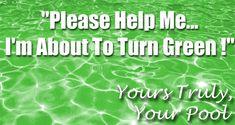 Green Pool Water, Swimming Pool Chlorine, Pool Shock, Word Up, Saving Money, Coupons, Tub, Archive, Rain