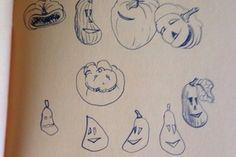 Recette de citrouille  sur charlotteblablablog