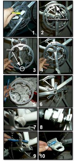 Bicycle Cleaning & Maintenance 101 - Cleaning the Bicycle Crankset or Crank System #bicyclerepair
