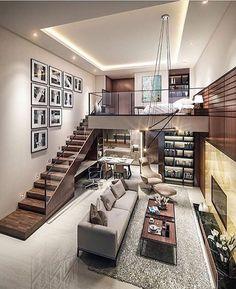 Loft/ living/ kitchen idea.