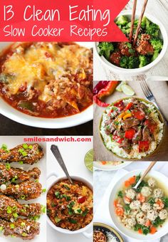 Slow cookers are magical tools. What other kitchen utensil basically cooks your dinner for you? These clean eating slow cooker recipes are pretty much your personal nutritionist/meal plan coach. Clean Eating Slow Cooker Recipe, Slow Cooked Meals, Healthy Slow Cooker, Clean Eating Diet, Slow Cooker Recipes, Crockpot Recipes, Healthy Eating, Cooking Recipes, Healthy Recipes