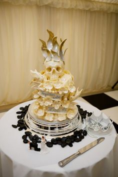 most bad-ass wedding cake ever?