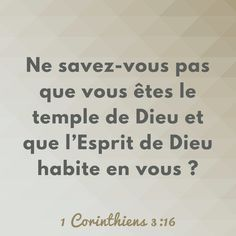 Dieu peut habiter en nous | 1001 versets Prayers For Him, Little Prayer, Jesus Loves Me, Quotes About God, Some Words, No One Loves Me, Spiritual Quotes, Gods Love, Quote Of The Day