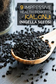 Kalonji, or nigella seeds, are known for their culinary and medicinal uses. Here are 9 impressive health benefits of kalonji. Nigella Sativa, Nigella Seeds, Matcha Benefits, Tea Benefits, Health Benefits, Health Tips, Health Care, Benefits Of Black Seed, Benefits Of Coconut Oil