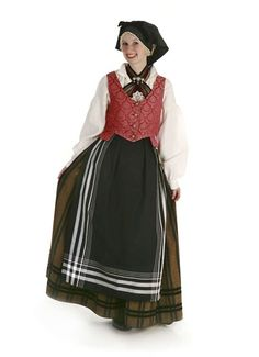 Lucretia Hanson, Troms Bunad. Folk Costume, Costumes, Norway, Dresses, Fashion, Vestidos, Moda, Dress Up Clothes, La Mode