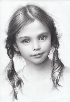 Drawing Pencil Portraits - Portrait of a Girl, Andrey Belichenko on ArtStation Discover The Secrets Of Drawing Realistic Pencil Portraits Portrait Au Crayon, Portrait Art, Drawing Sketches, Art Drawings, Drawing Portraits, Drawing Faces, Drawing Ideas, Sketching, Drawing Tutorials