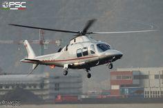 Agusta A109S DaVinci HB-ZVJ VistaJet at Bolzano Airport