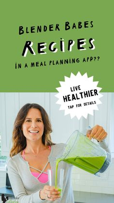 The best meal planning app is Real Plans! Check out this highly customizable tool that makes eating healthier a snap! Blenderbabes.com/RealPlans #mealplanning #mealplan #bestmealplanningapp #blenderbabes Best Smoothie Recipes, Good Smoothies, Fruit Smoothies, Best Meal Planning App, Losing Weight Tips, Lose Weight, Recipe Adjuster, Gluten Free Diet, Healthy Living