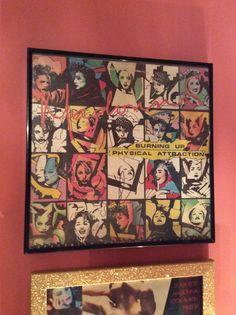 Signed album Madonna