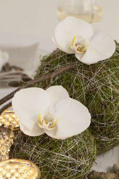 Pynt festbordet med vakre mosekuler med orkide: https://www.mestergronn.no/blomsterbutikk/Kjop_blomster/Anledninger/Konfirmasjon