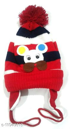 Caps Baby Woolen Multicolor Cap (0-12 Months - Pack of 1) Print and Color May Vary  Baby Woolen Multicolor Cap (0-12 Months - Pack of 1) Print and Color May Vary  Country of Origin: India Sizes Available: Free Size   Catalog Rating: ★4.2 (718)  Catalog Name: Check out this trending catalog CatalogID_2049060 C63-SC1195 Code: 671-11040613-