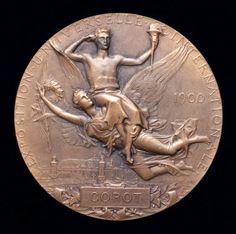 Paris 1900 Olympic Medals, Asian Games, Commonwealth Games, Summer Olympics, Lion Sculpture, Statue, Paris, Montmartre Paris, Paris France