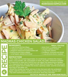 This a guest post from Michelle Tam of Nom Nom Paleo. Whipping up some chicken salad? Don't you dare make a bland-tasting version tossed with plain old may