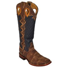 Men's Ferrini Tan Rodeo Cowboy Boots