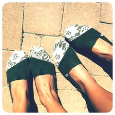 DIY lace toms. So cute