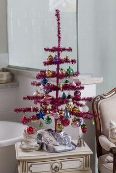 Christmas Ideas | Cedar Hill Farmhouse | Feather Tree | #christmas