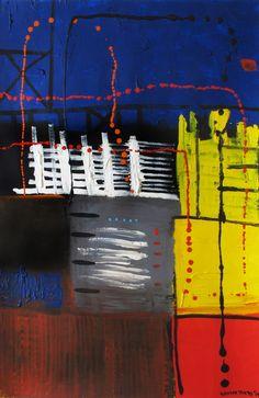 ST 10. Arte, Acrílico, Óleo, Galería, Interiorismo, Gráfica, Tinta, Decoración. Abstracto Azul Mexican Art, Fair Grounds, Fun, Travel, Painting, Acrylic Art, Ink, Abstract, Blue Nails