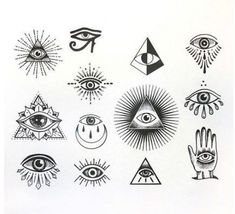61 Ideen z. Illuminati Eye Tattoo-Symbole tattoo designs ideas männer männer ideen old school quotes sketches Mini Tattoos, Body Art Tattoos, Small Tattoos, Tatoos, Small Tattoo Symbols, Ship Tattoos, Word Tattoos, Finger Tattoos, Small Outline Tattoos