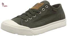 Palladium  Pallarue LC, Sneakers Basses homme - Vert - Grün (Army Green/Marshmallow), 44 - Chaussures palladium (*Partner-Link)