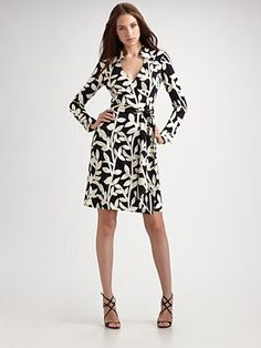 Can't mess with a classic...DVF wrap dress