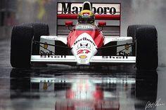 1990 McLaren MP4/5B (Ayrton Senna)