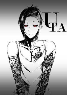 Zu den beliebtesten Tags für dieses Bild zählen: uta, tokyo ghoul, anime und ghoul