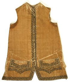 Vest Date: 1710 Culture: American or European Medium: silk Dimensions: [no dimensions available] Credit Line: Gift of M... Accession Number: C.I.39.13.144