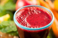 O suco rosa é uma fonte deliciosa de nutrientes